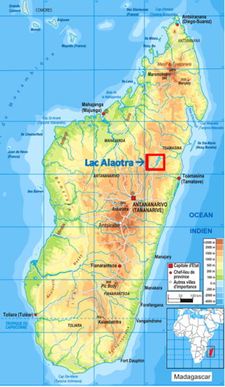 Carte Madagascar Tananarive.Processus Ecologiques Contexte De L Etude De Cas A Madagascar
