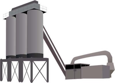 Manufacturing Plant Icon