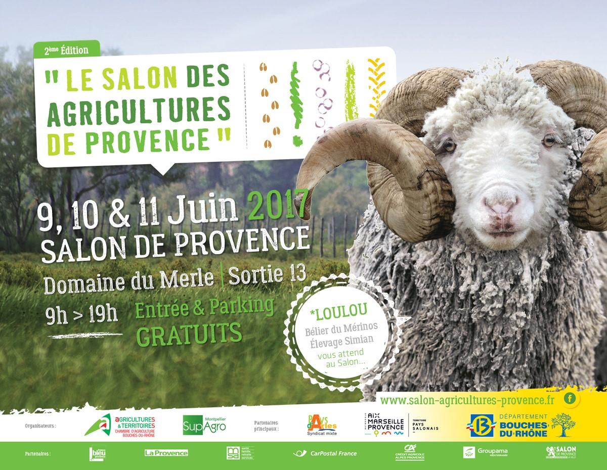 Salon des agricultures de provence au merle for Salon des agricultures de provence 2017